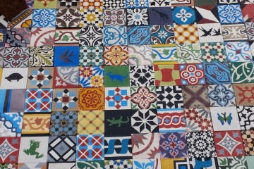 Atlas interiors Encaustic tiles 07770393020