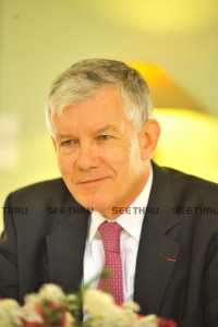 H.E Mr. André Parant, the French Ambassador