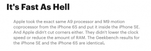 What Do The Reviews Say Ab54744out The New iPhone SE    Digg
