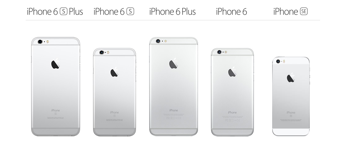 iPhone Compare Models Apple8