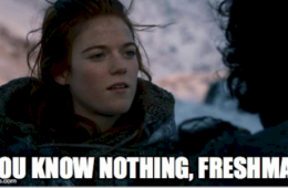 yu know nothing