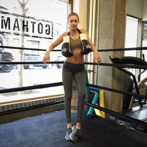 Gigi-Hadid-in-boxing-ring