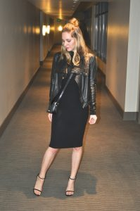 Black-midi-dress-leather-jacket-and-heels-1024x1542