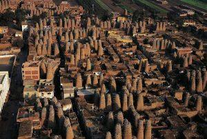 pigeon-houses-mit-gahmr-delta-egypt