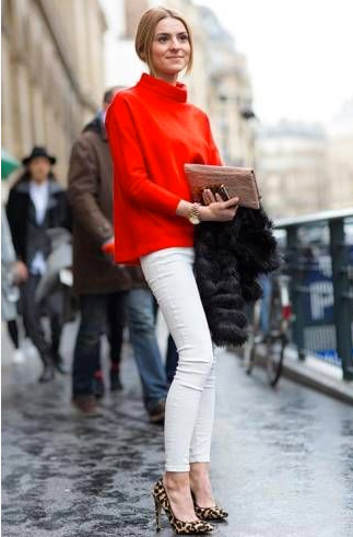How-to-Wear-White-Jeans-in-Winter-2