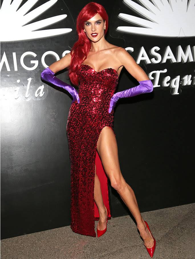 BEVERLY HILLS, CA - OCTOBER 28: Model Alessandra Ambrosio arrives to the Casamigos Halloween Party at a private residence on October 28, 2016 in Beverly Hills, California. (Photo by Todd Williamson/Getty Images for Casamigos Tequila)