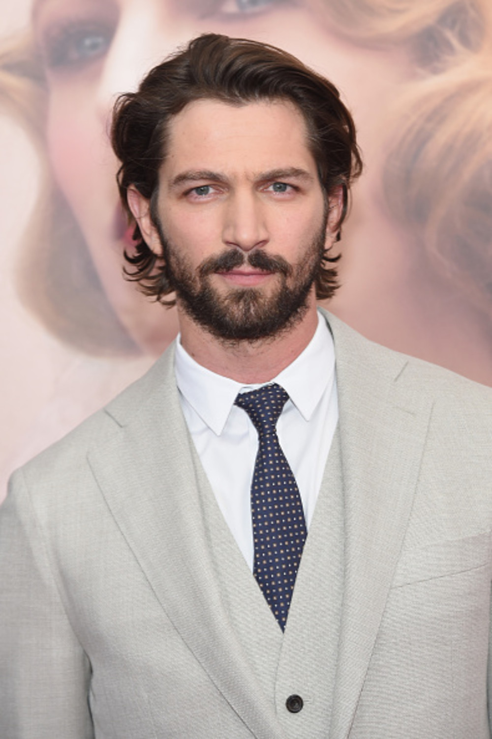 "NEW YORK, NY - APRIL 19: Actor Michiel Huisman attends ""The Age of Adaline"" premiere at AMC Loews Lincoln Square 13 theater on April 19, 2015 in New York City. (Photo by Jamie McCarthy/Getty Images)"