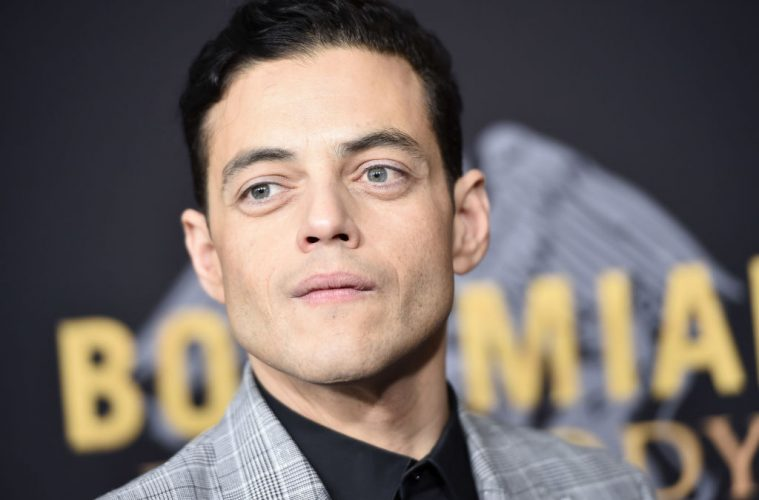 "NEW YORK, NY - OCTOBER 30:  Rami Malek attends ""Bohemian Rhapsody"" New York Premiere at The Paris Theatre on October 30, 2018 in New York City.  (Photo by Steven Ferdman/Getty Images)"