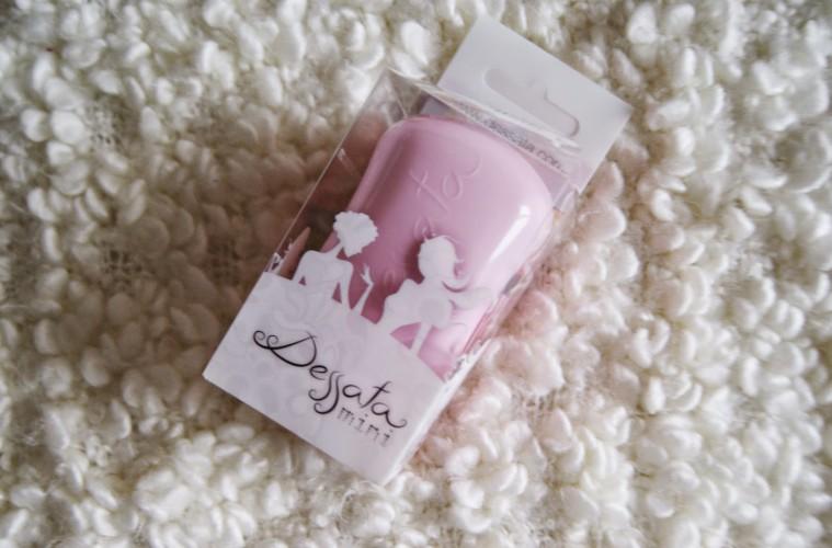 dessata mini hairbrush review 1