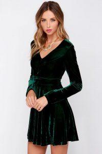 6-fabulous-choices-dark-green-christmas-dresses-1