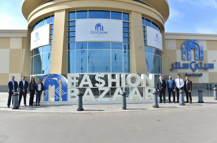 A picture of the team of Fashion bazaar event
